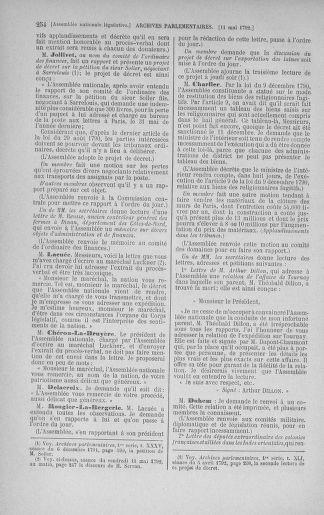 Tome 43 : Du 4 au 22 mai 1792 - page 254