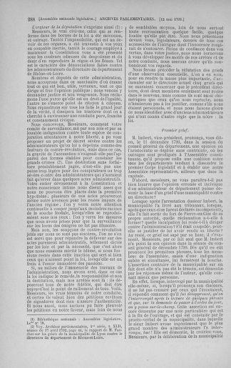 Tome 43 : Du 4 au 22 mai 1792 - page 288