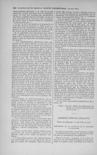 Tome 43 : Du 4 au 22 mai 1792 - page 306