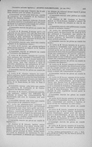 Tome 43 : Du 4 au 22 mai 1792 - page 315