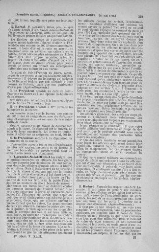 Tome 43 : Du 4 au 22 mai 1792 - page 321