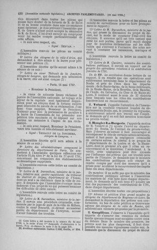 Tome 43 : Du 4 au 22 mai 1792 - page 430