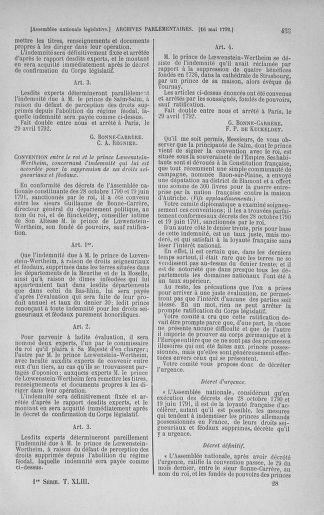 Tome 43 : Du 4 au 22 mai 1792 - page 433
