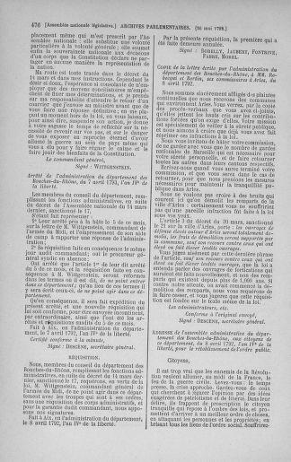 Tome 43 : Du 4 au 22 mai 1792 - page 476
