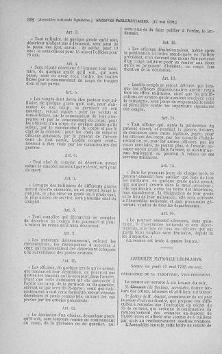 Tome 43 : Du 4 au 22 mai 1792 - page 522