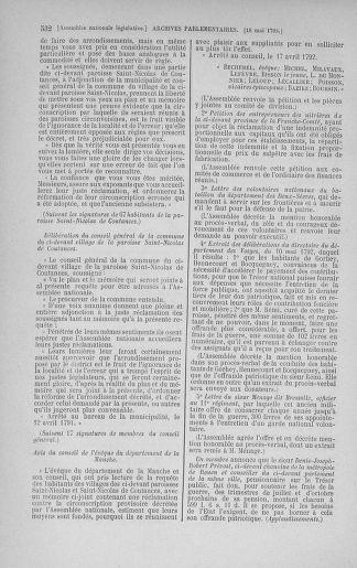Tome 43 : Du 4 au 22 mai 1792 - page 532