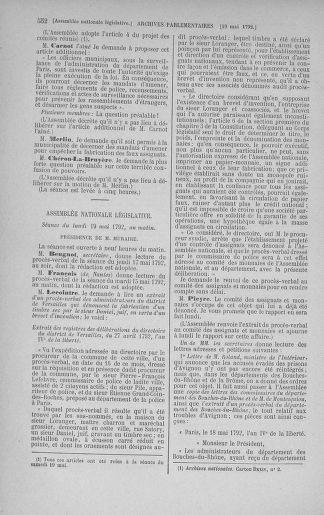 Tome 43 : Du 4 au 22 mai 1792 - page 552