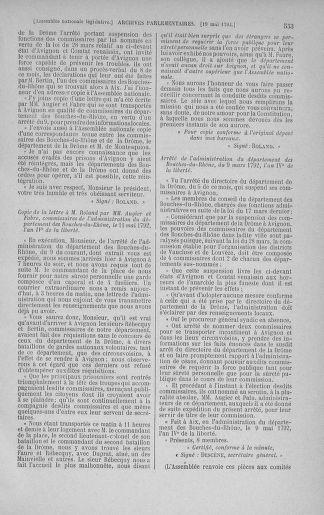 Tome 43 : Du 4 au 22 mai 1792 - page 553