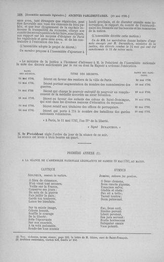 Tome 43 : Du 4 au 22 mai 1792 - page 568