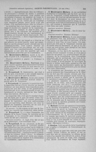 Tome 43 : Du 4 au 22 mai 1792 - page 581
