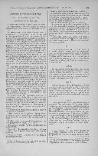 Tome 43 : Du 4 au 22 mai 1792 - page 591