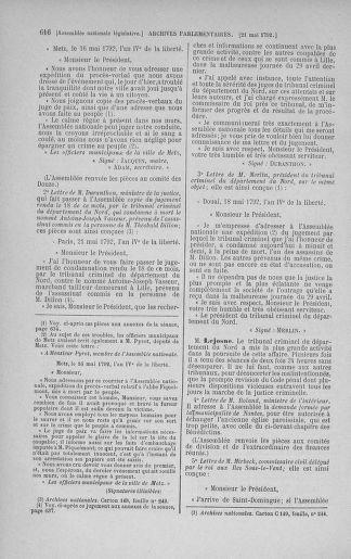 Tome 43 : Du 4 au 22 mai 1792 - page 616