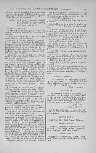 Tome 43 : Du 4 au 22 mai 1792 - page 617