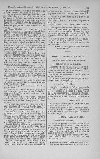 Tome 43 : Du 4 au 22 mai 1792 - page 667