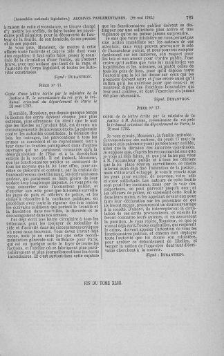 Tome 43 : Du 4 au 22 mai 1792 - page 725
