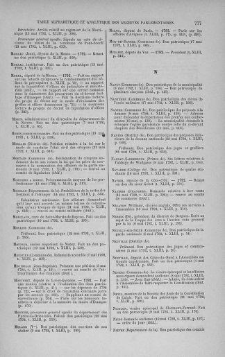 Tome 43 : Du 4 au 22 mai 1792 - page 777