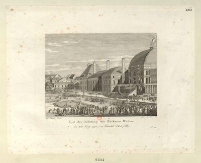 Fest der Anbetung des Höchsten Wesens den 8ten Juny 1794... : [estampe]