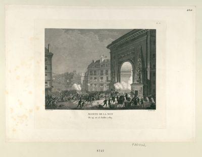 Alerte de la nuit du 14 au 15 juillet 1789 : [estampe]