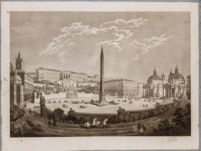 Piazza del Popolo, veduta d'insieme