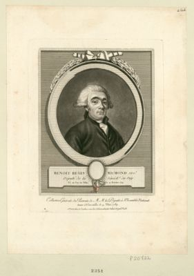 Benoit Regis Richond neg.t député de la sénéch.ée du Puy, né au Puy-en-Velai le 10 fevrier 1741 : [estampe]