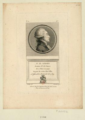 P.H. Anson receveur g.ral des finances né à Paris en 1744 deputé de cette dite ville à l'Assemblée nationale de 1789 : [estampe]