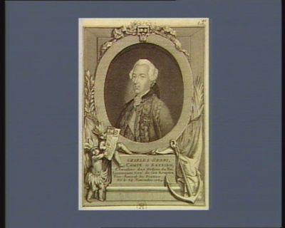 Charles-Henri, comte d'Estaing chevalier des ordres du Roi lieutenant gen.l de ses armées, vice-amiral de France ; né le 24 novembre 1729 : [estampe]