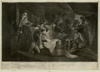 Charlotte Corday, Marat, Brissotie, Robespierre 1793 den 13ten July abends nach 7 Uhr : [estampe]