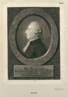 M. Bailli de l'Académie françoise, président de l'Assemblée nationale constituée en 1789, prévôt des marchands : [estampe]
