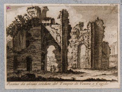Rovine da alcuni credute del tempio di Venere e Cupido