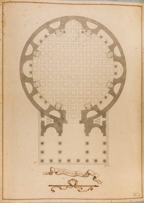 Pianta del Panteon
