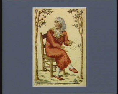 J.P Marat assassiné le 13 juillet 1793 [estampe]