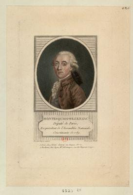 Montesquiou-Fezensac député de Paris ; ex-président de l'Assemblée nationale constituante de 1789 : [estampe]