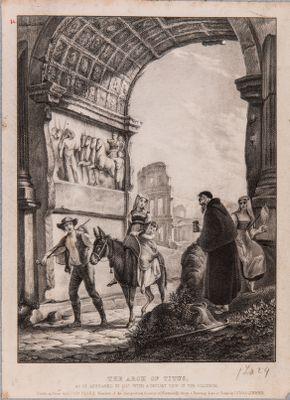 Arco di Tito, interno