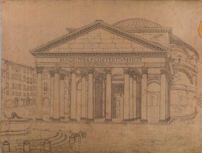 Pantheon, pronao