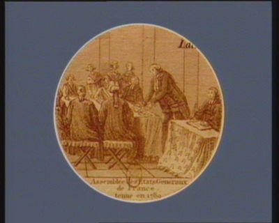 Assemblée des Etats generaux de France tenue en 1789 [estampe]