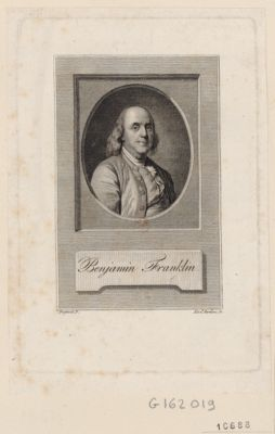 Benjamin Franklin [estampe]