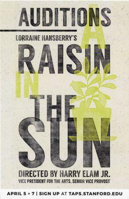 Raisin in the Sun Auditions