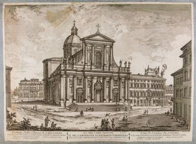Chiesa di S. Giovanni dé Fiorentini, facciata