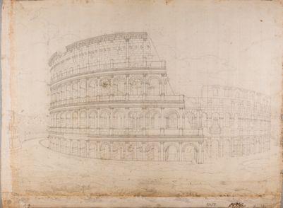 Colosseo, esterno