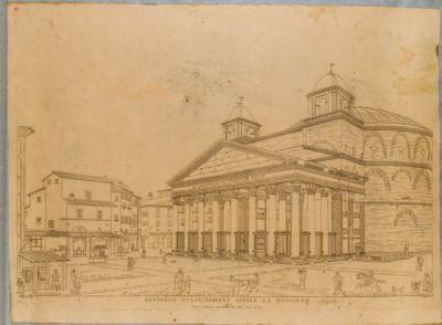 Pantheon vulgairement appele La Rotonde