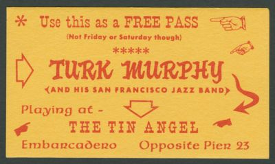 Turk Murphy at the Tin Angel