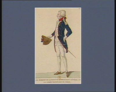 M. le marquis de La Fayette commandant général de la Garde nationale de Paris... : [estampe]