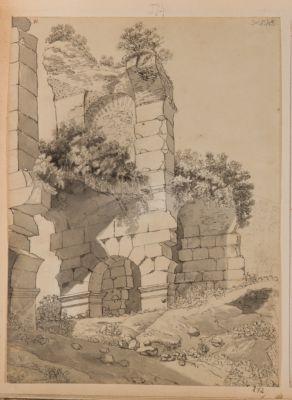 Colosseo, particolare di arcate