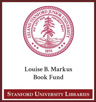 Louise B. Markus Book Fund