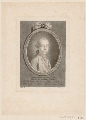 Joseph sourd et muet trouvé sur le chemin de Péronne en août 1773 réclamant les noms et qualités de comte de Solar qualibus in tenebris... : [estampe]