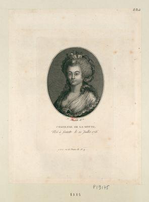 Comtesse de La Motte née à Fontette le 22 juillet 1756 : [estampe]