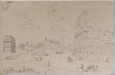 Tempio di Venere e Roma e paesaggio circostante