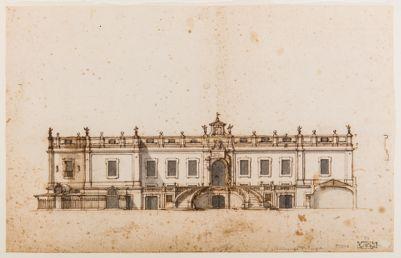 Palazzo del Quirinale. Progetto di edificio da aggiungersi al Palazzo Pontificio