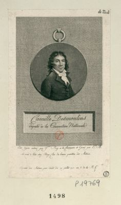 Camille Desmoulins député à la Convention nationale : [estampe]