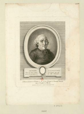 Lecesve, curé de S.e Triaiz.e de Poitiers l'un des trois curés du Poitou qui ont passé les premiers à la Salle nationale : [estampe]
